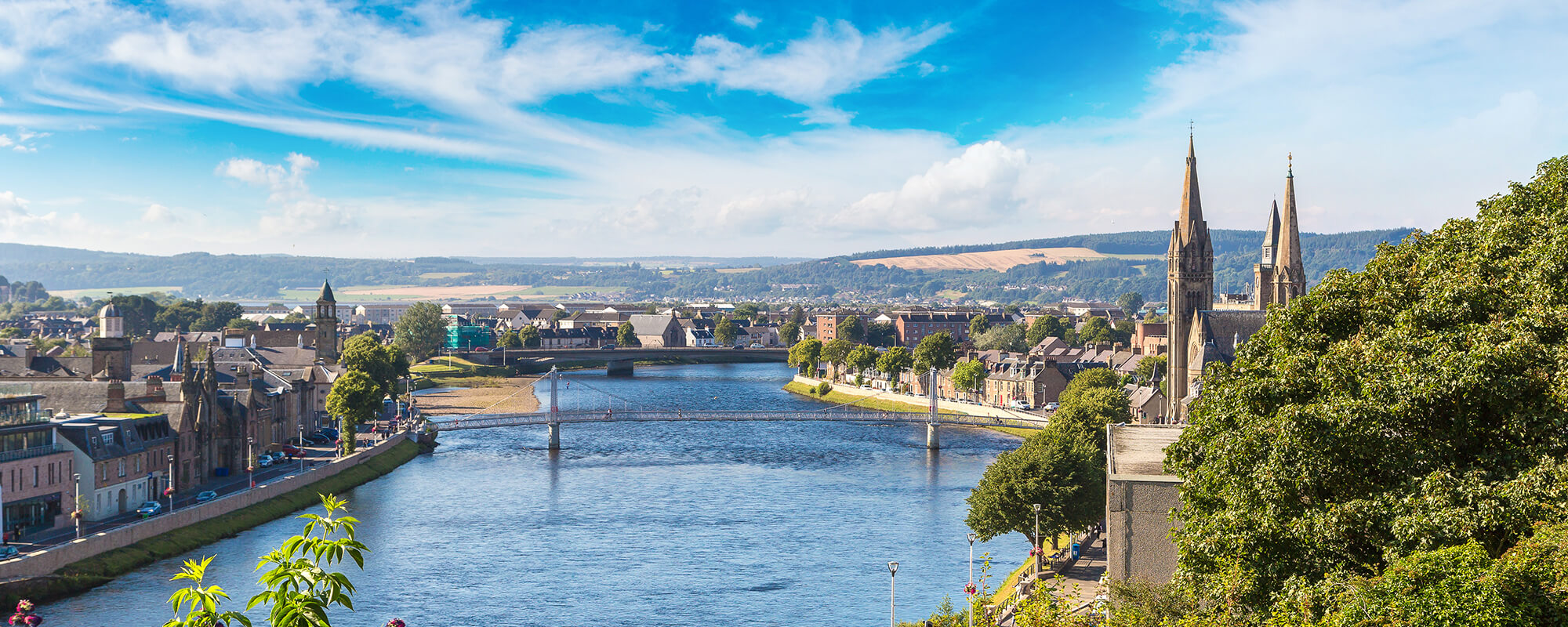 Overlooking Inverness