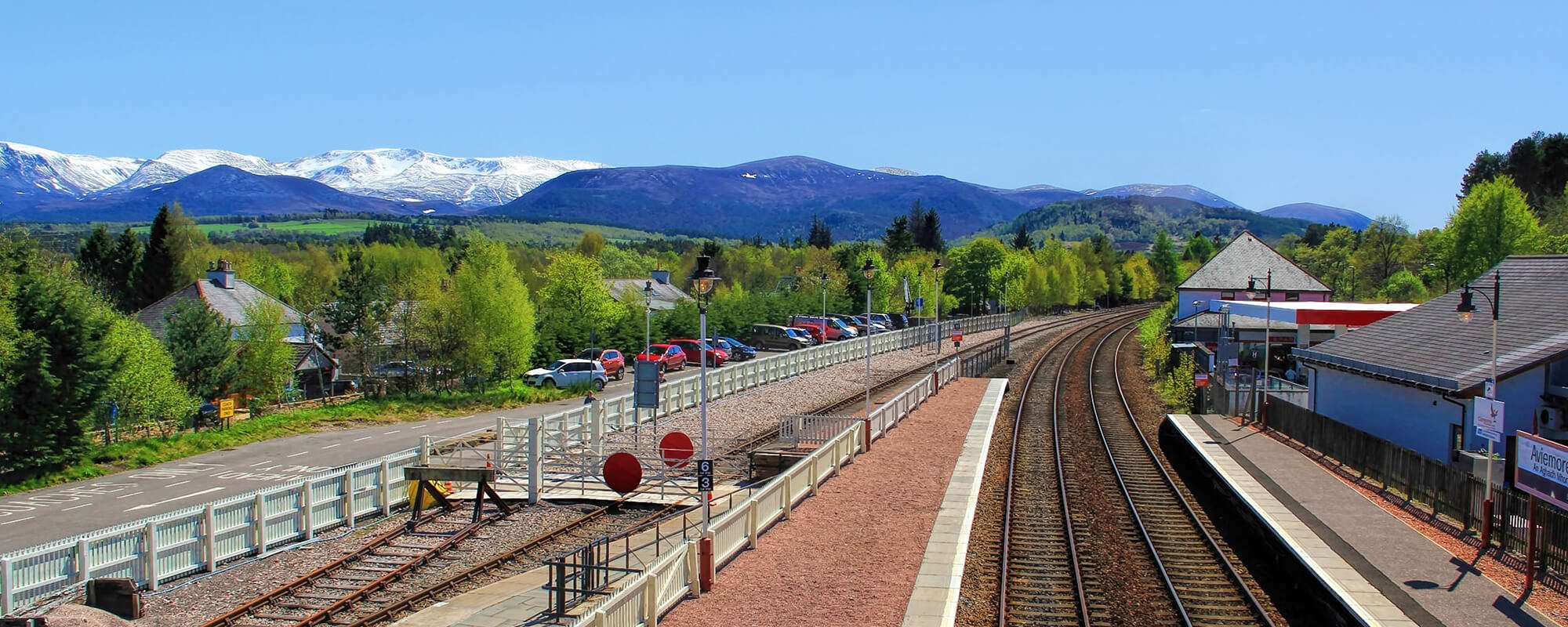 Aviemore Train Station