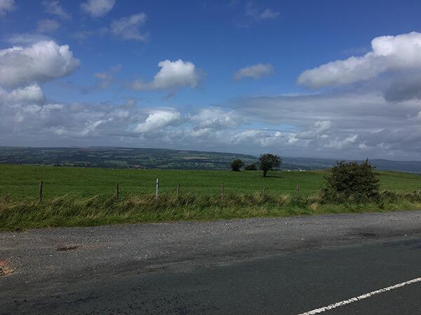 Overlooking Lancashire