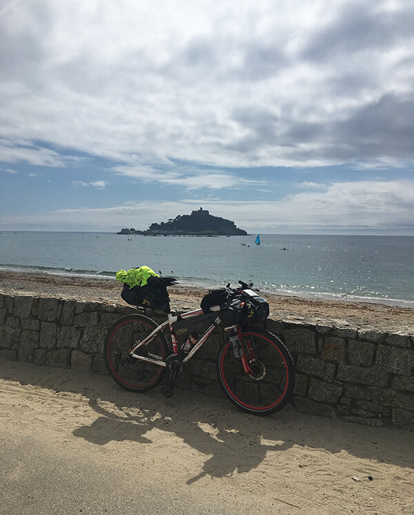 Looking across to St Michaels Mount