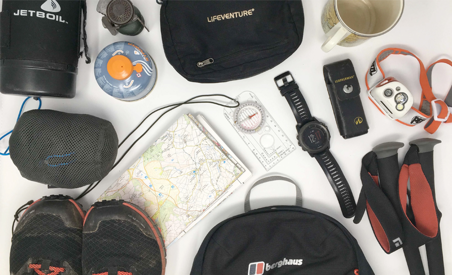 The ultimate hiking checklist on being prepared when trekking in the wild