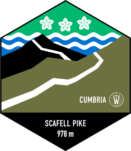 Scafell Pike Badge
